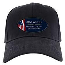Jim Webb for President V3 Baseball Hat