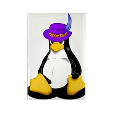 Linux Pimp Rectangle Magnet