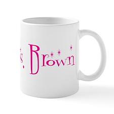 Future Mrs. Brown Coffee Mug