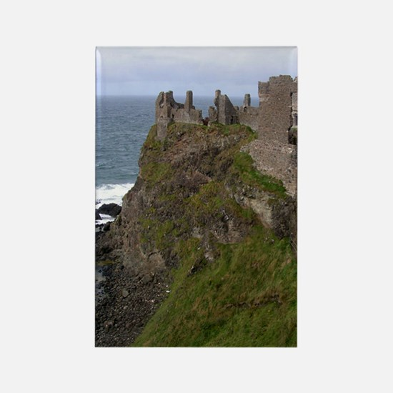 Dunluce Castle Rectangle Magnet