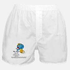 Blue Fishtini Boxer Shorts