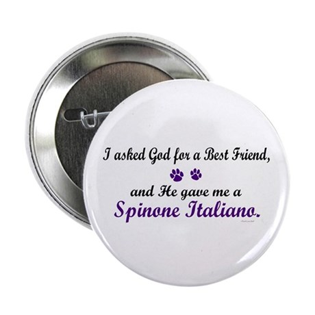 God Gave Me A Spinone Italiano Button