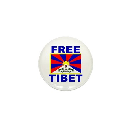 Free Tibet Mini Button (100 pack)