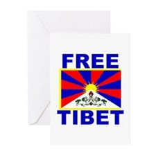 Free Tibet Greeting Cards (Pk of 10)