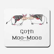 Goth Moo-Moos Mousepad