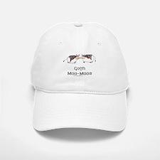 Goth Moo-Moos Baseball Baseball Cap