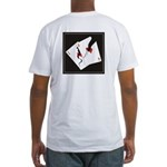 Cracked Aces Fitted T-Shirt