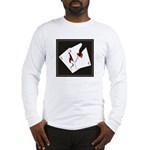 Cracked Aces Long Sleeve T-Shirt