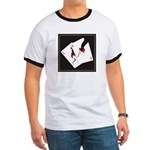 Cracked Aces Ringer T