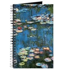Waterlilies by Claude Monet, Vintage Impre Journal