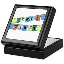 Free Tibet Prayer Flags Keepsake Box