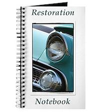 Classic Car Restoration Notebook Journal
