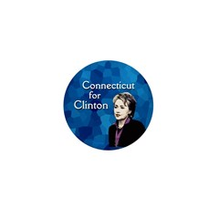 Connecticut for Clinton campaign pin