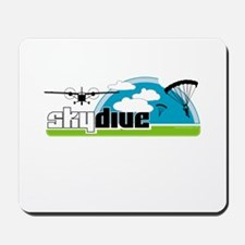 Skydive Dropzone Paradise Mousepad