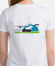 Skydive Dropzone Paradise Women's T-Shirt