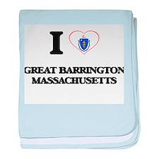 I love Great Barrington Massachusetts baby blanket