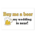 Buy me a beer Postcards (Package of 8)