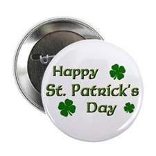 """Happy St. Patrick's Day 2.25"""" Button (10 pack)"""