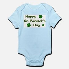 Happy St. Patrick's Day Infant Bodysuit