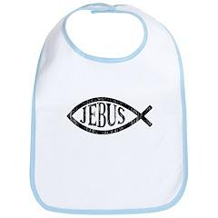 Praise Jebus Bib