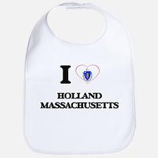 I love Holland Massachusetts Bib