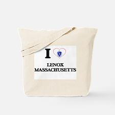 I love Lenox Massachusetts Tote Bag
