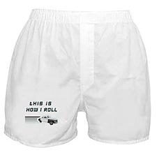 Vintage Police Car Boxer Shorts