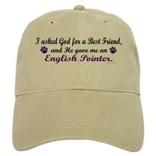 God Gave Me An English Pointer Baseball Cap