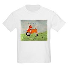 orange tractor T-Shirt