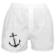 Stylish Anchor Boxer Shorts