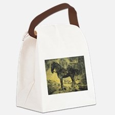 The Charger Canvas Lunch Bag