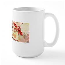 Tangerine Dragonfly Fun Mugs