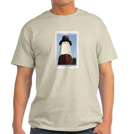 Montauk Lighthouse Ash Grey T-Shirt