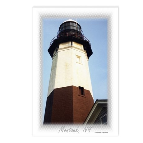 Montauk Lighthouse Postcards (Package of 8)