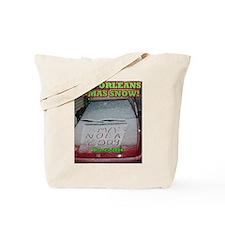 It Snowed in New Orleans on C Tote Bag