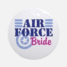 Air Force Bride Ornament (Round)