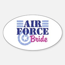 Air Force Bride Oval Decal