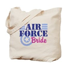 Air Force Bride Tote Bag