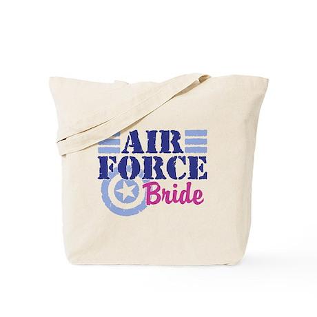 Air Force Bride Tote Bag