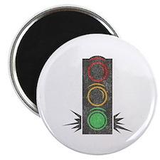 Vintage Trafficlight Magnet