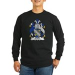 Justice Family Crest Long Sleeve Dark T-Shirt