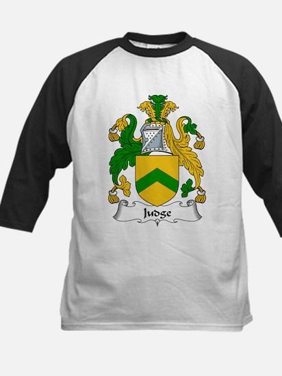 Judge Family Crest Kids Baseball Jersey