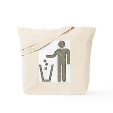 Vintage Rubbish Tote Bag
