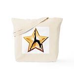 Gymnastics Tote Bag - Star