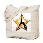 Gymnastics Tote Bag - Star