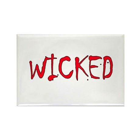 Halloween - Wicked Rectangle Magnet