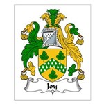 Joy Family Crest Small Poster