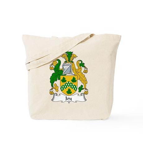 Joy Family Crest Tote Bag