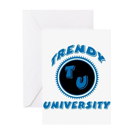 Trendy University Greeting Card