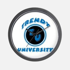 Trendy University Wall Clock